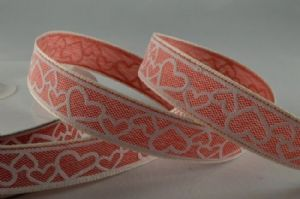 RED LOVE HEART RIBBON  55021